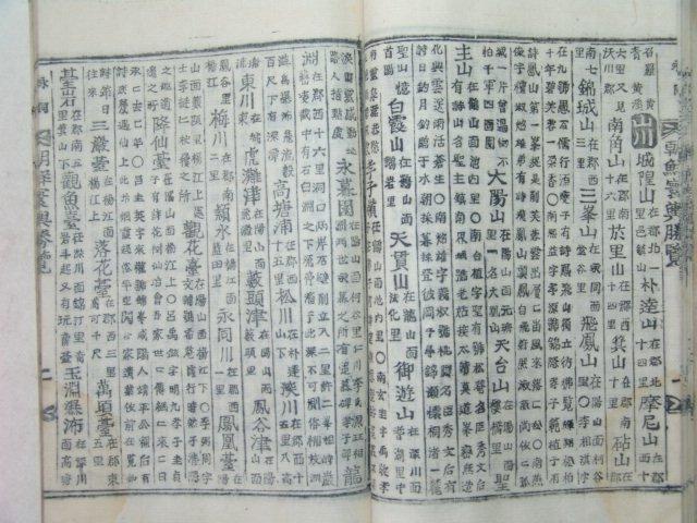 조선환여승람(朝鮮환與勝覽)영동(永同)편 1책완질