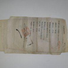 조선시대 남평문씨가 호구 5장