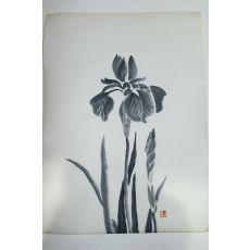 수묵화 난초그림