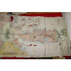 1786년 채색필사 하이국(蝦夷國) 지도
